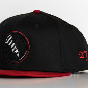 "Record ""Circle"" Logo Snap Back"