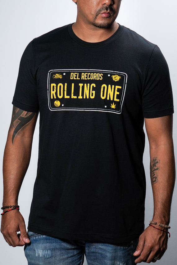 Rolling One Distress Tee