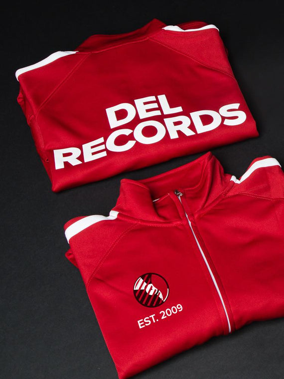 Del Records Track Jacket
