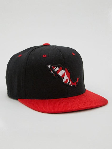 Del 27 Brand Mexico Map Snap Back