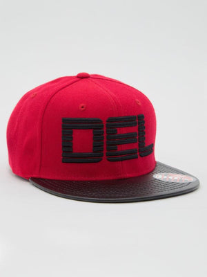"Del ""Bars"" Logo Snap Back"