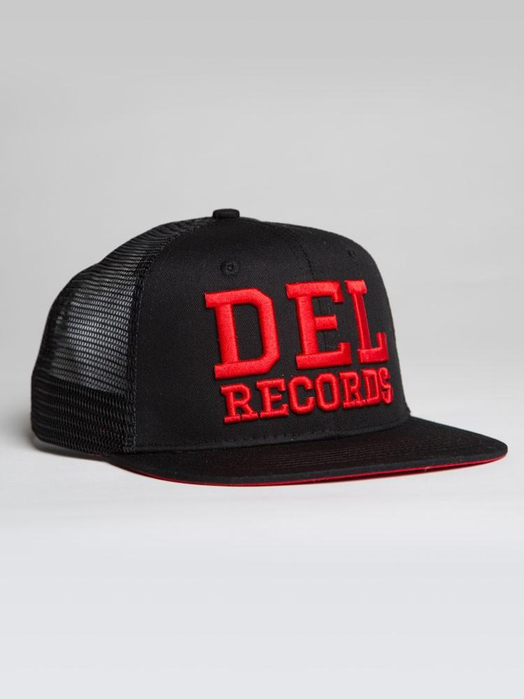 Premium Del Records Trucker Snap Back