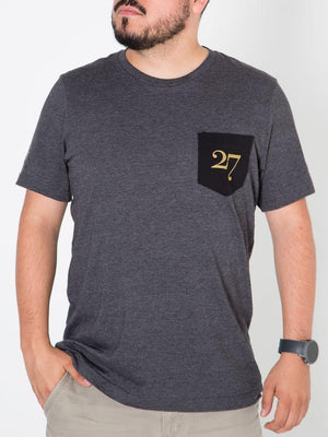 Del 27 Brand™ Logo Men's Pocket Tee
