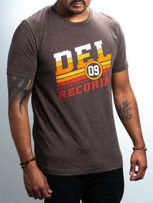 Del Records Retro Unisex Tee