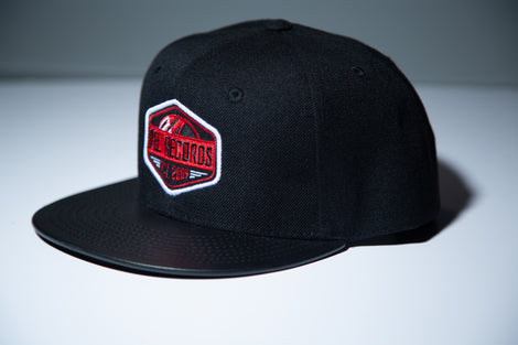 Del Records Sticker Hat