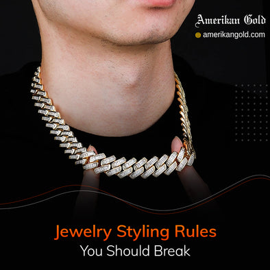 Break Jewelry Wearing Rules to Develop Your Style