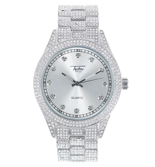 White Glow Face Watch