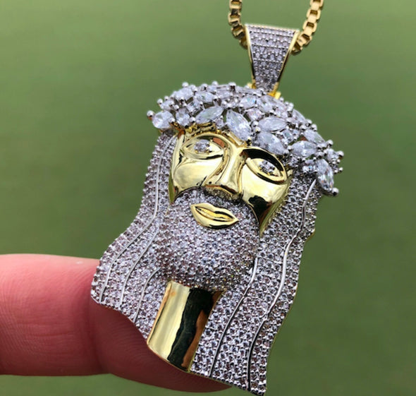 Diamond Jesus Piece