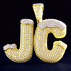 Iced out letters
