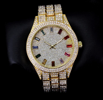Gold Rainbow watch