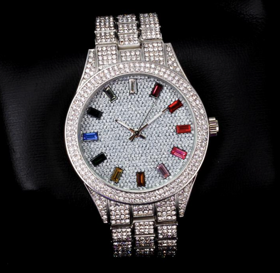 White Gold Rainbow watch