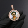 Gold Picture Pendant