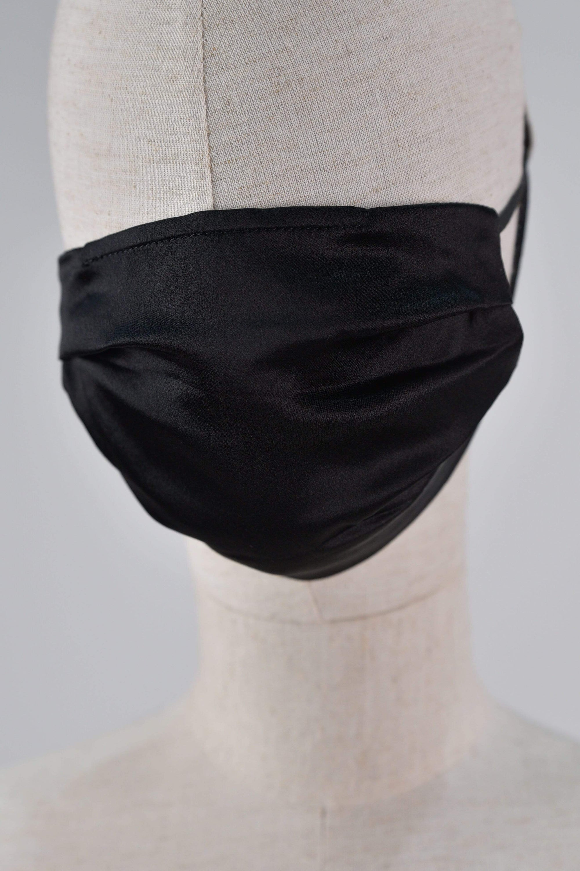 All Would Envy Accessories *BACKORDER* SILK MASK IN BLACK
