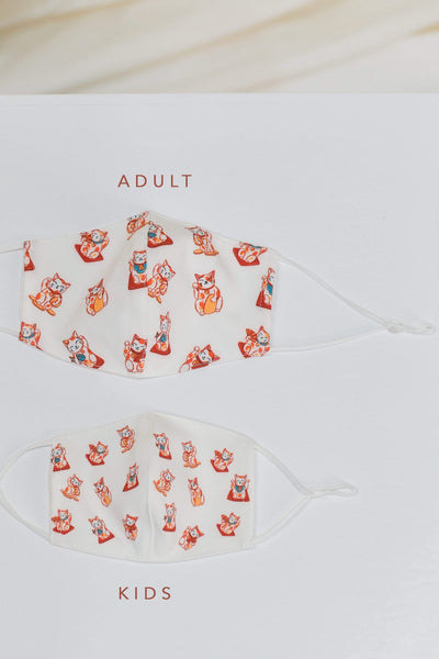 AWE Accessories FS FORTUNE CAT KIDS' MASK
