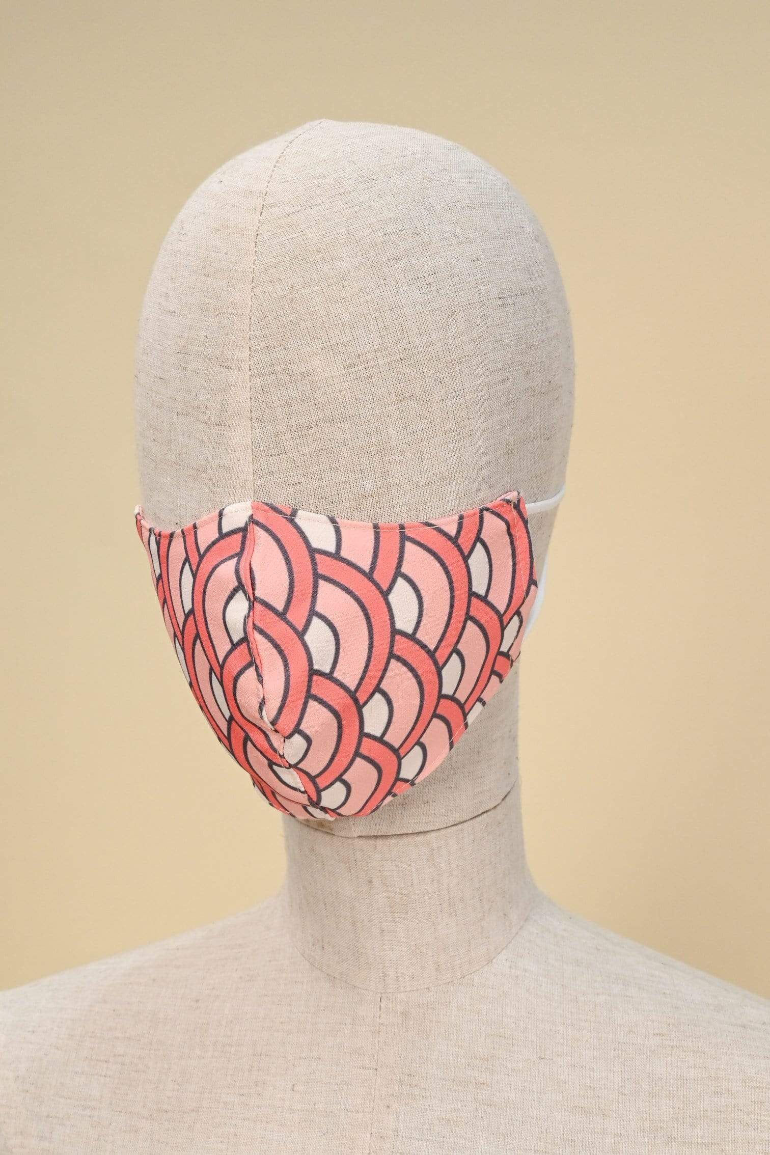 NIKO MASK IN CORAL