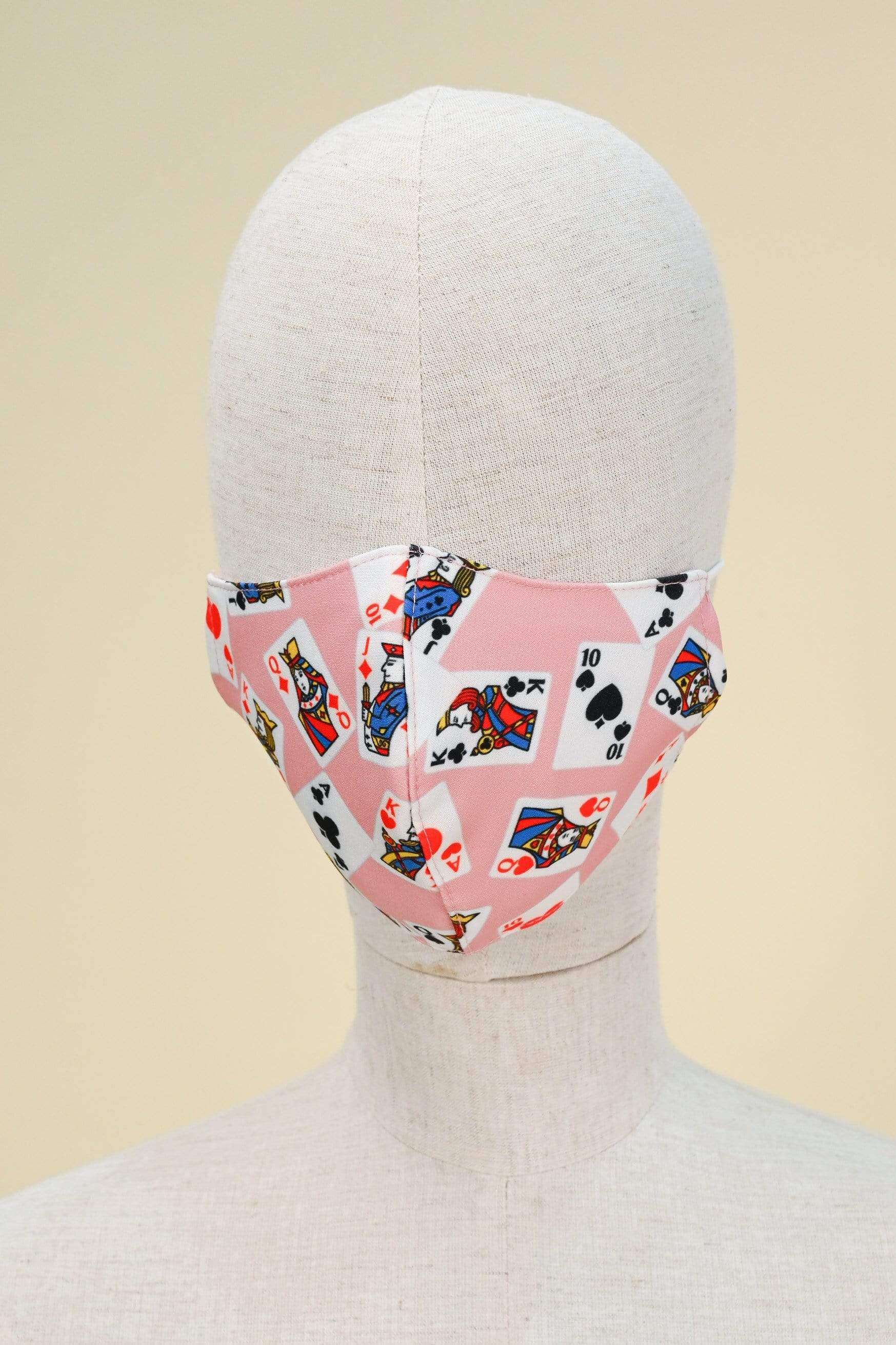 AWE Accessories FS POKER FACE MASK IN PINK