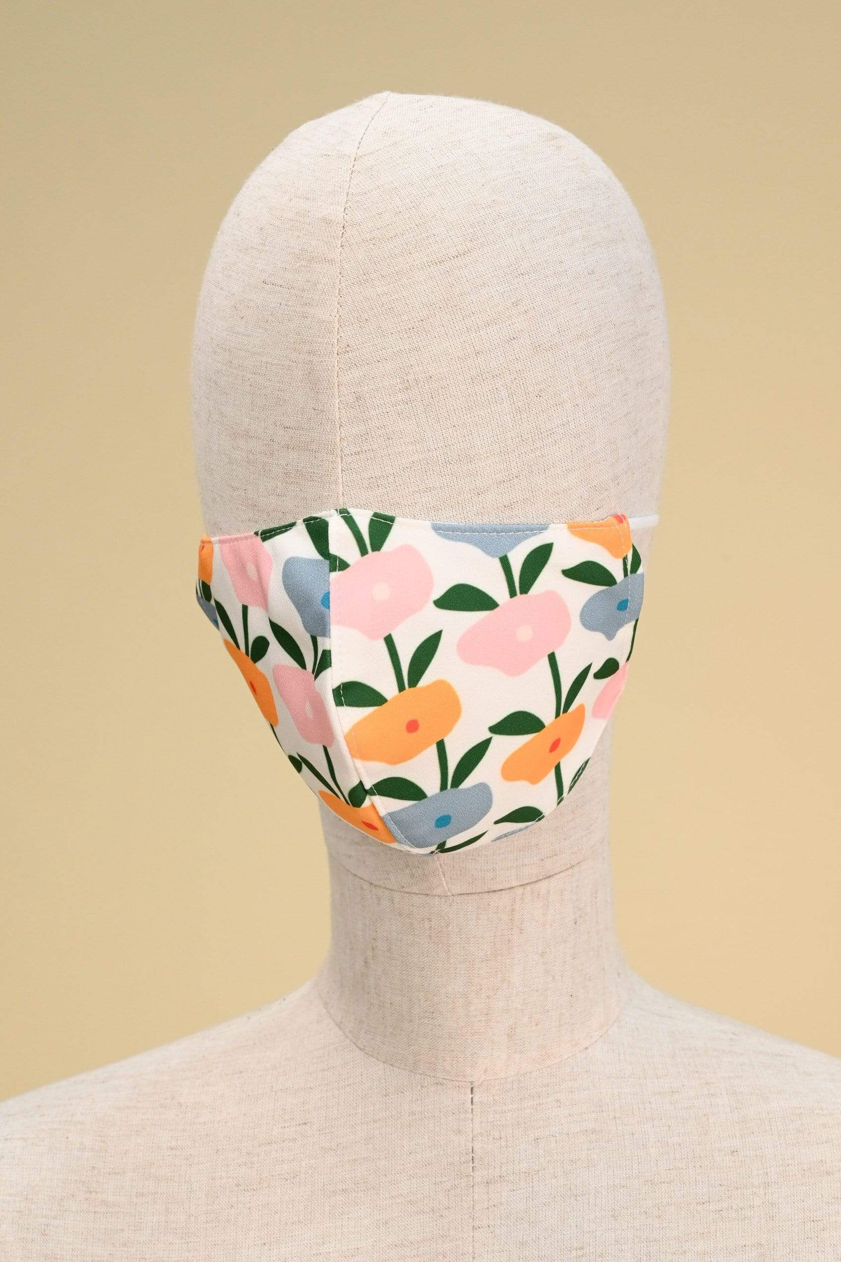 AWE Accessories XS HAPPY MASK IN BLOSSOMS