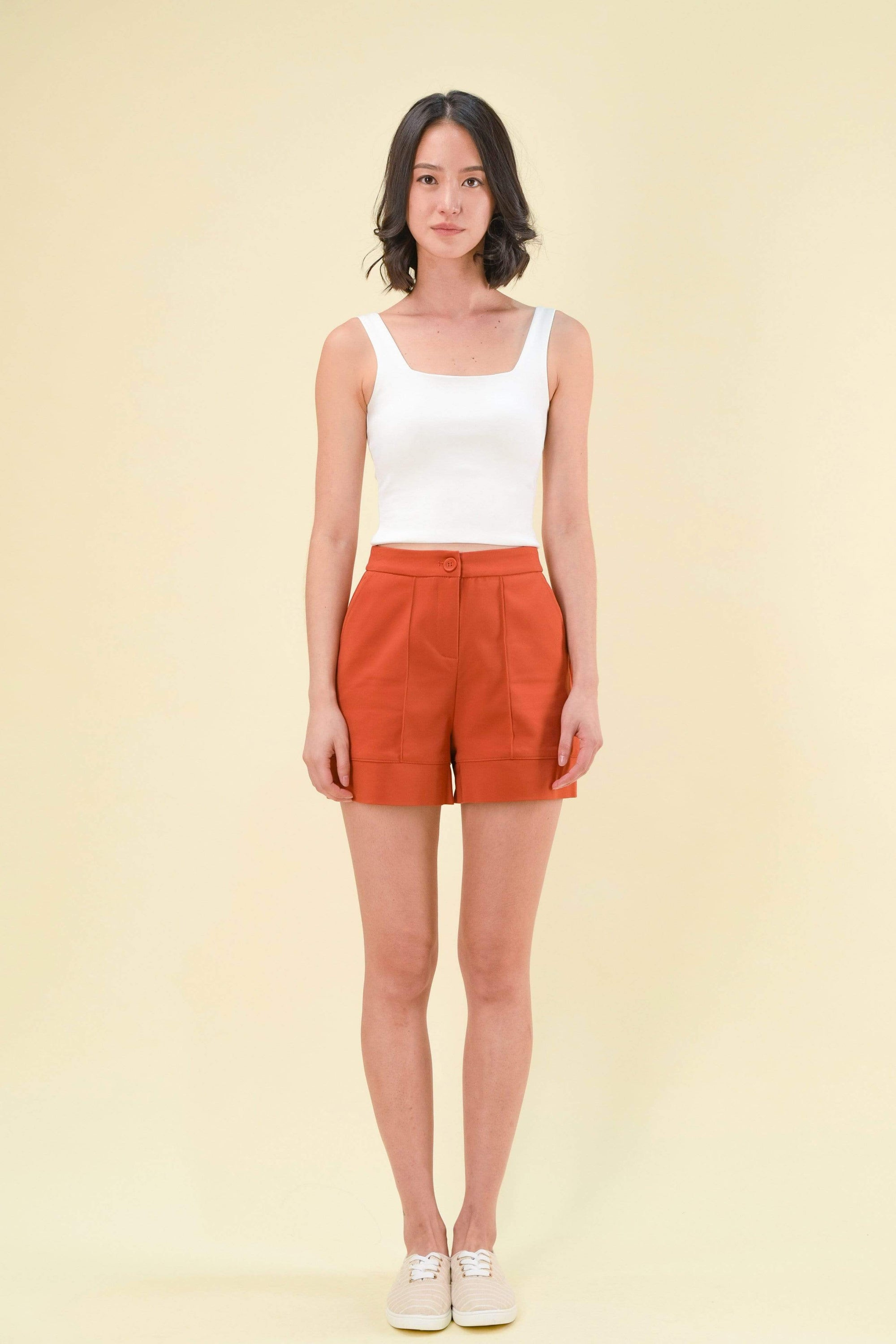 CHERVIL SHORTS IN ORANGE