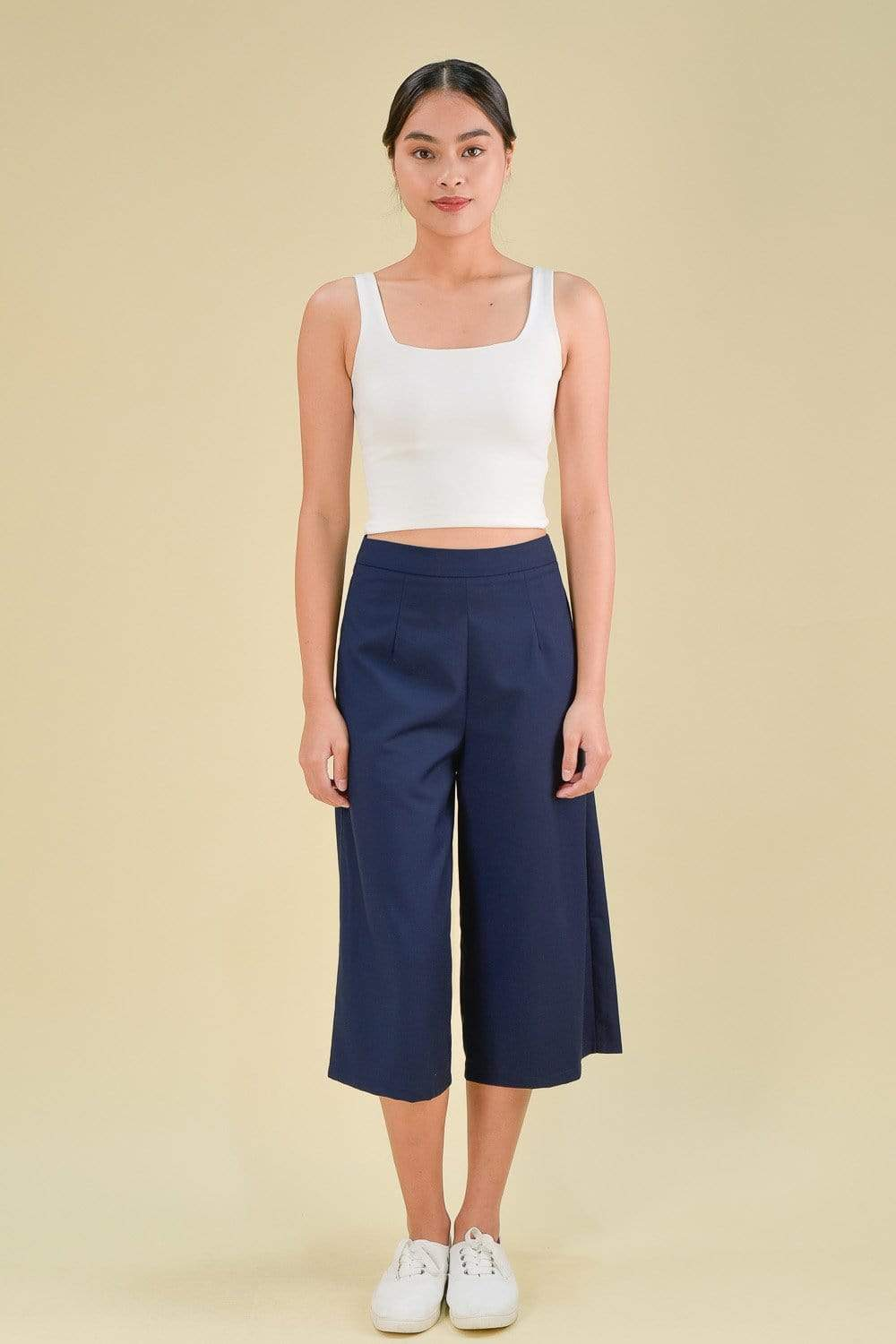 AWE Bottoms DARCY CULOTTES IN NAVY