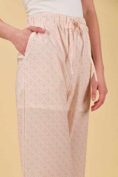 AWE Bottoms MARRAKESH DRAWSTRING PANTS IN BEIGE