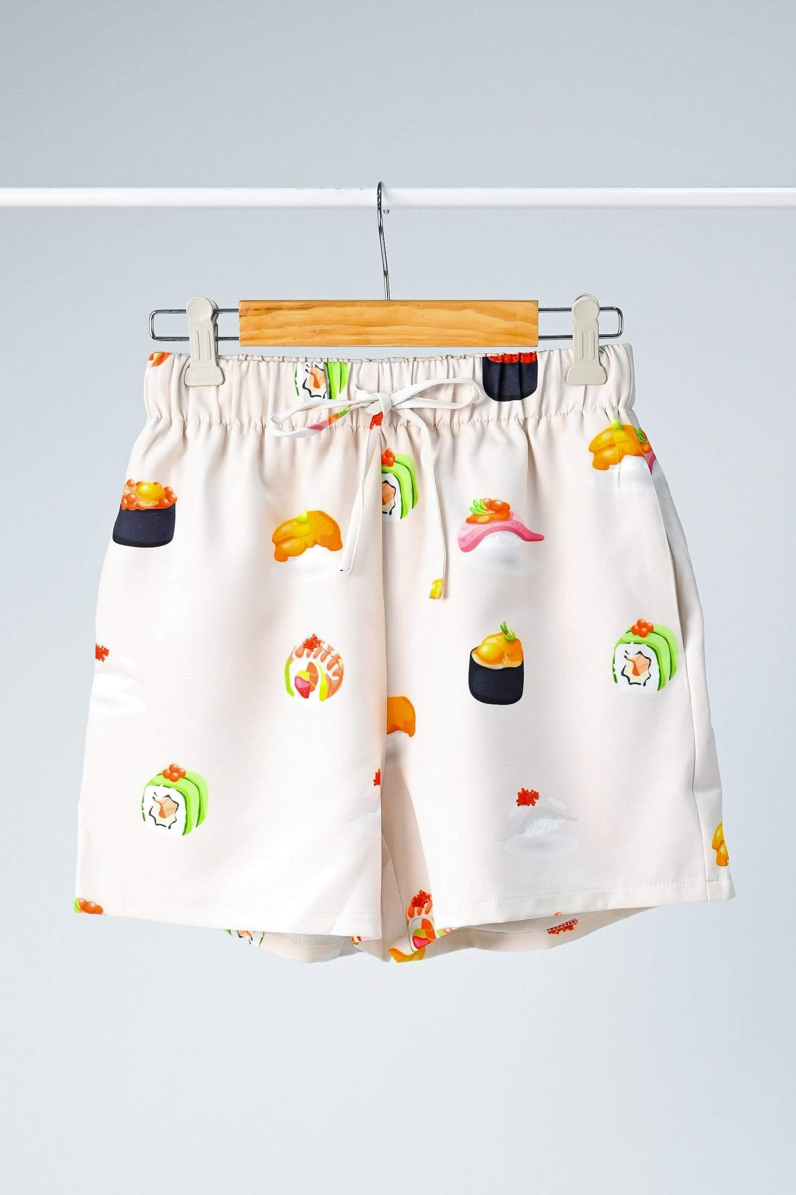 SUSHI DRAWSTRING LOUNGE SHORTS