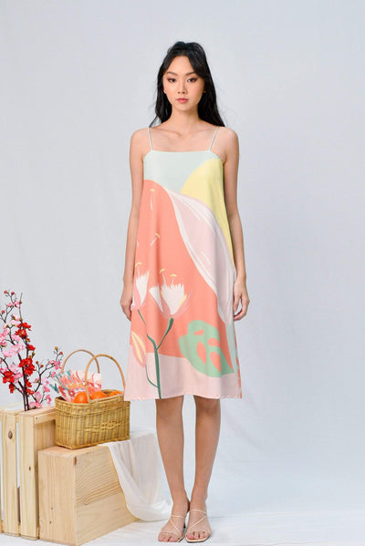 AWE Dresses ARCADIA TENT DRESS IN BLISS