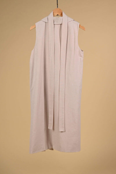 AWE Dresses BEATRICE LONGLINE VEST IN BARLEY