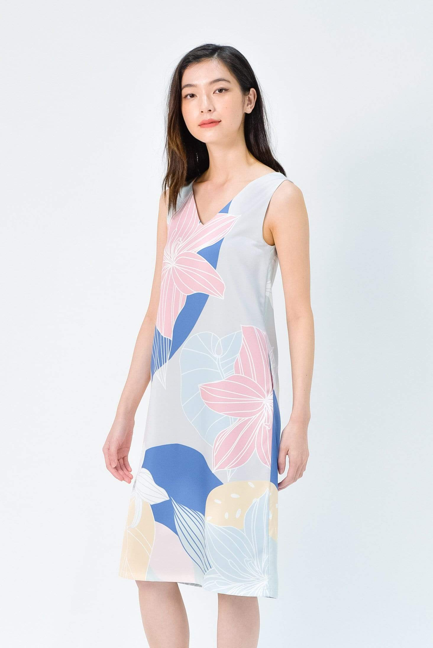 FAIRYTALE TWO-WAY SHIFT DRESS IN PASTEL