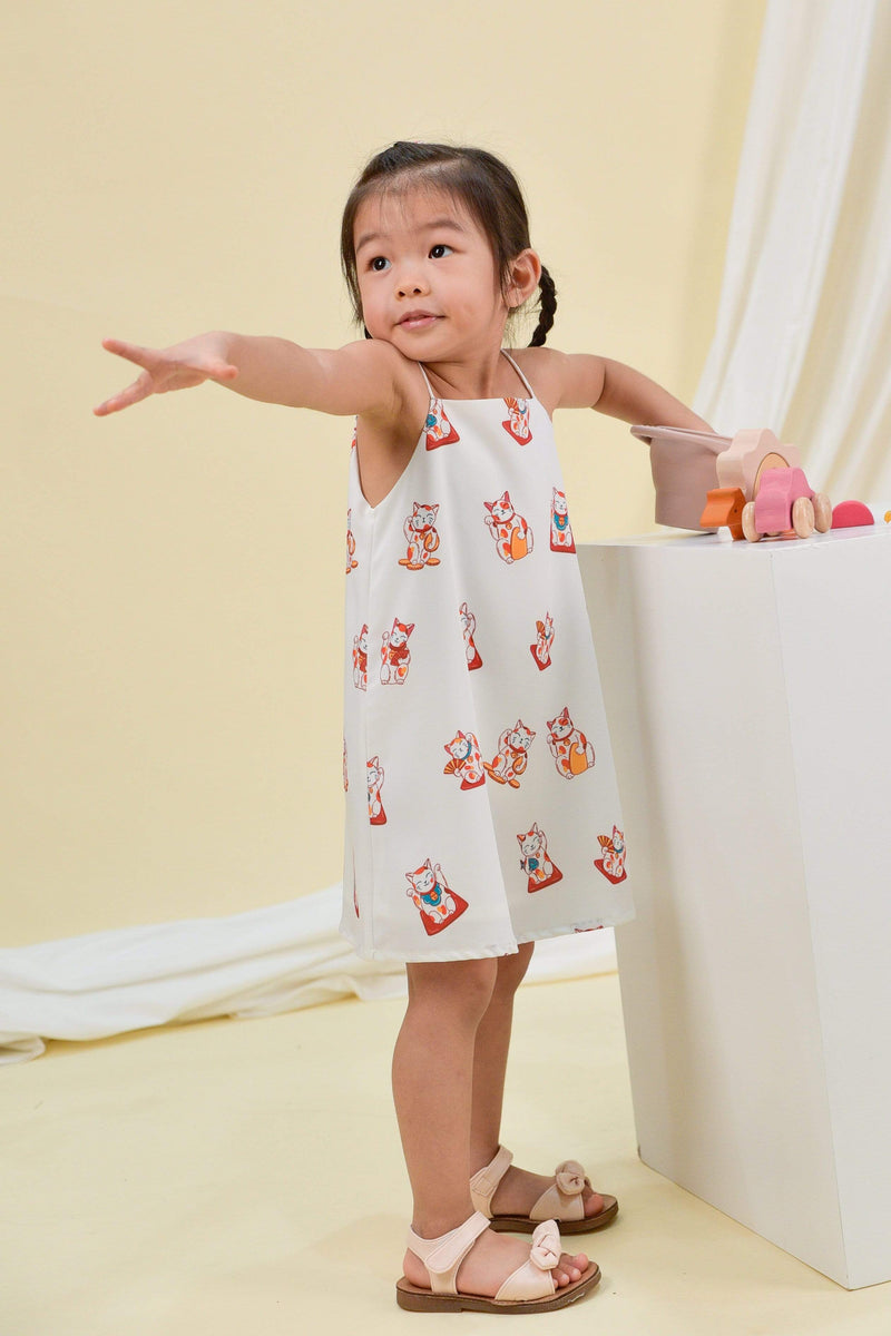 AWE Dresses FORTUNE CAT KIDS' DRESS