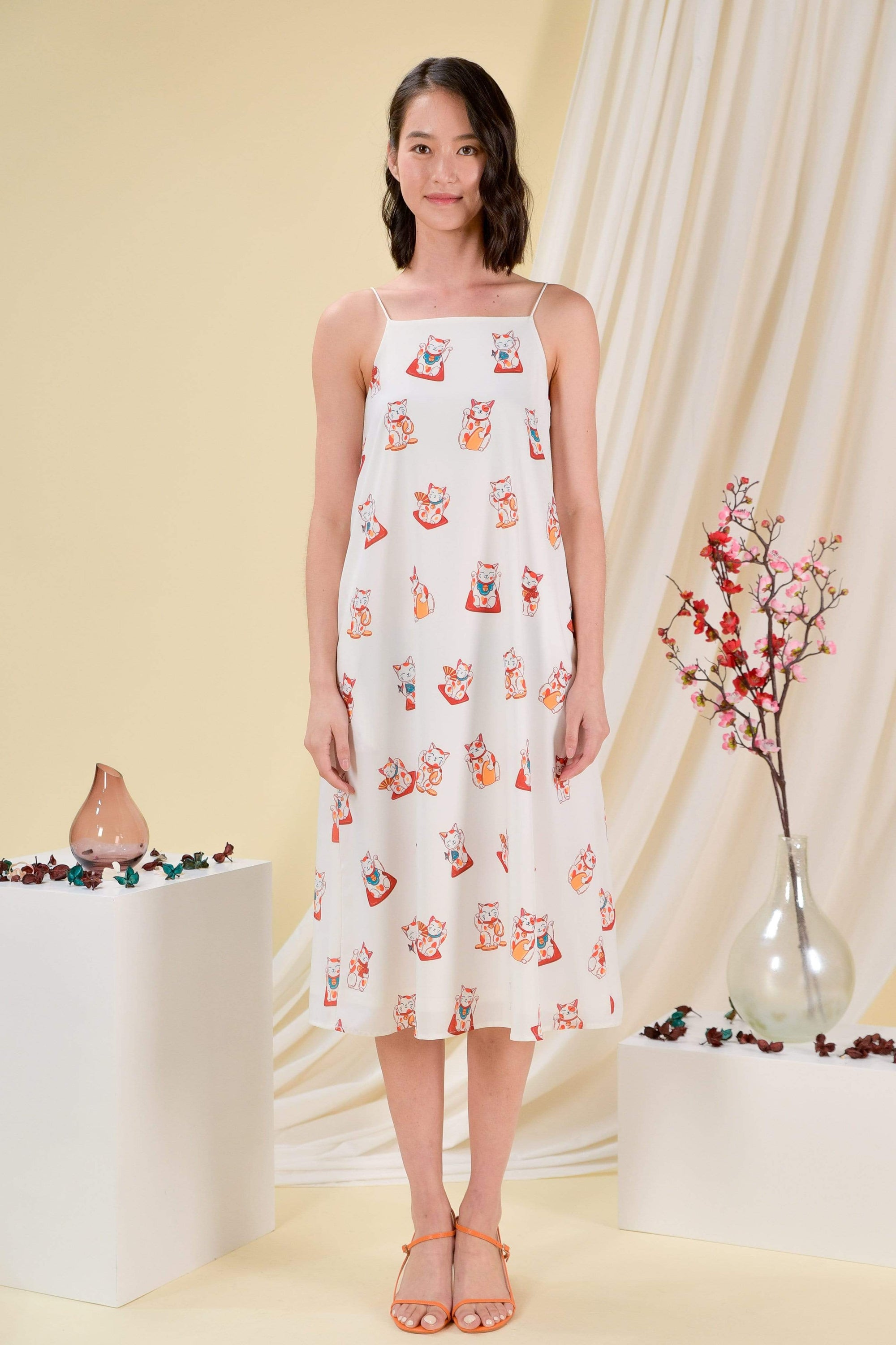 FORTUNE CAT TENT DRESS