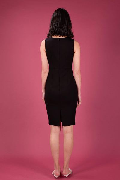 AWE Dresses INJAE SWEETHEART PENCIL DRESS IN BLACK