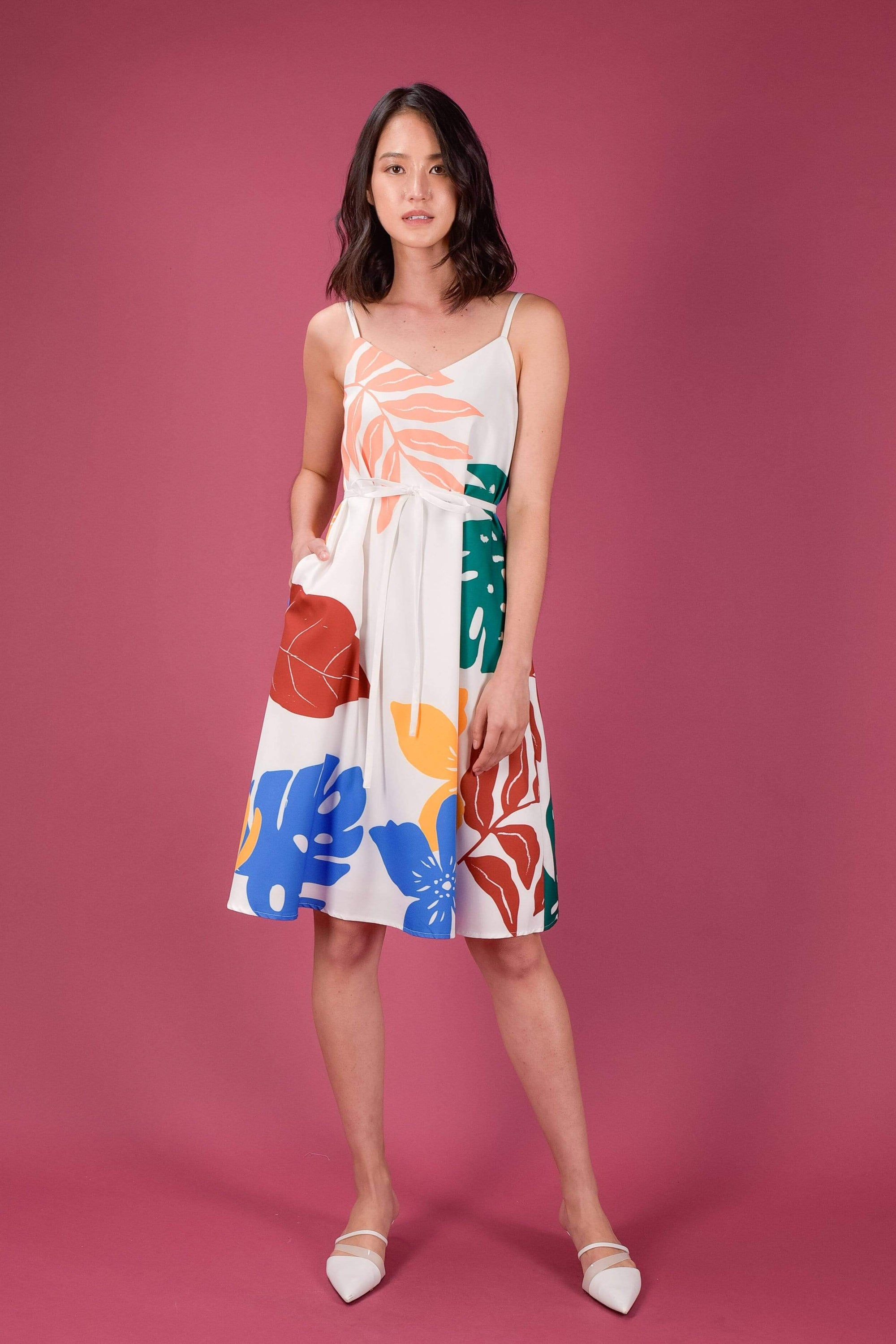 KINDRED SPAG DRESS IN VIBRANT