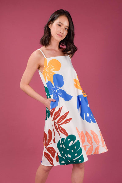 AWE Dresses KINDRED SPAG DRESS IN VIBRANT