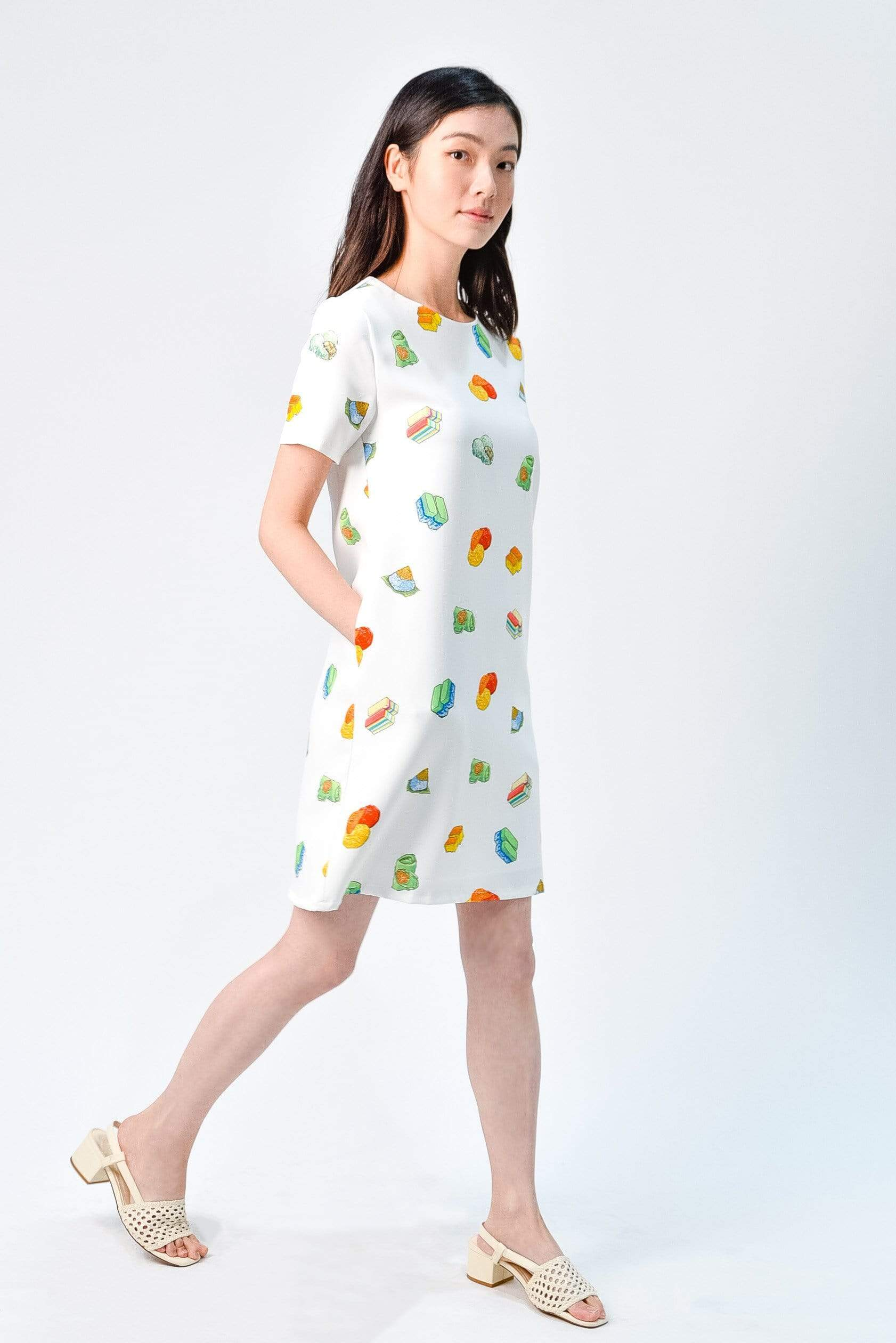KUEH TEE SLEEVED DRESS