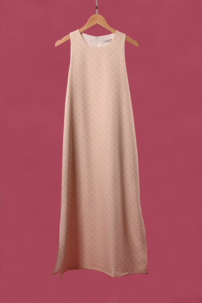AWE Dresses MARRAKESH SLIT MIDI IN BEIGE