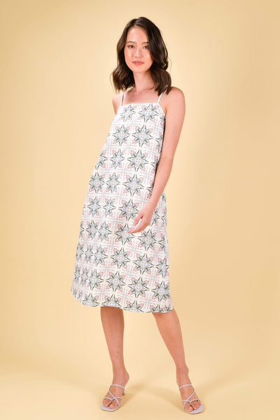 AWE Dresses MARRAKESH SPAG DRESS IN SAGE