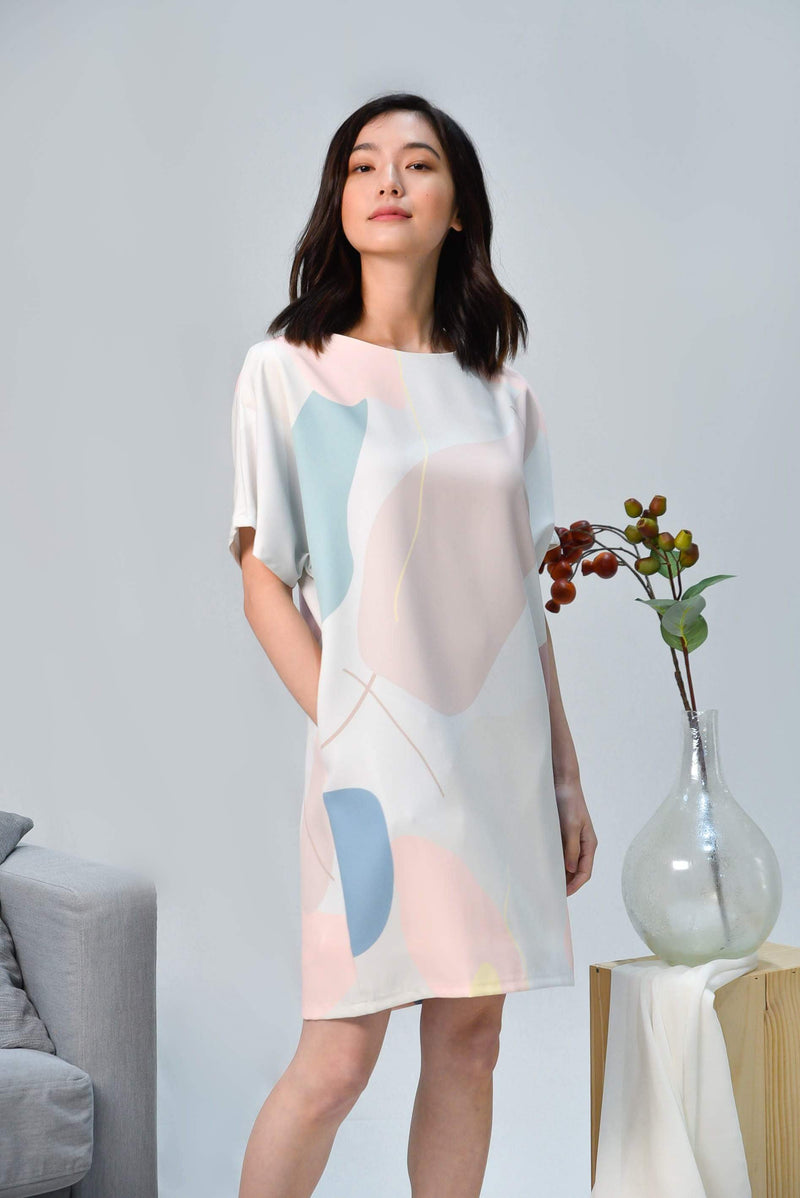 PADDLE POP BATWING DRESS