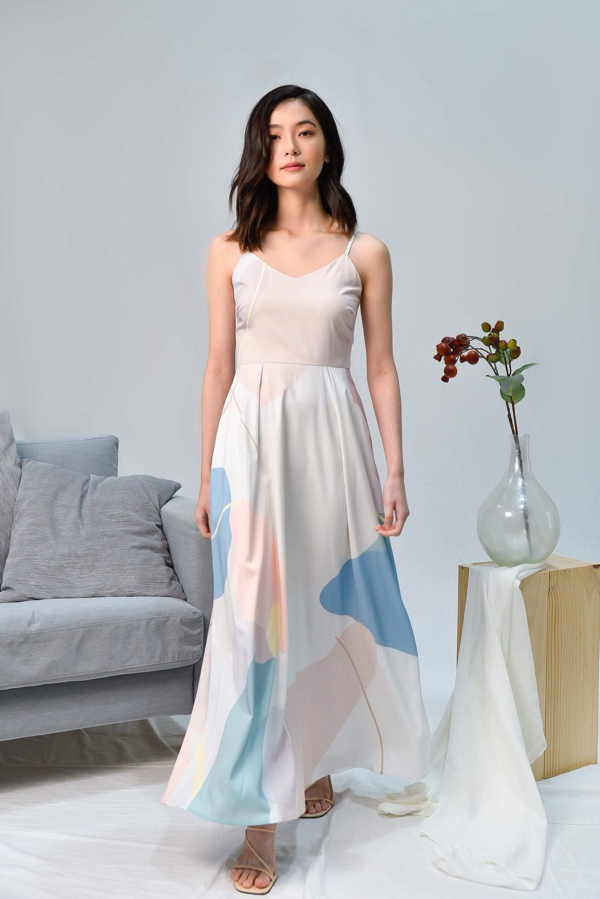 AWE Dresses PADDLE POP MAXI DRESS