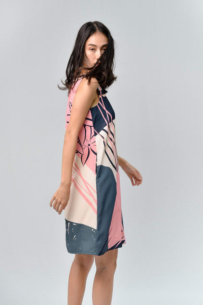 AWE Dresses PAINTER SHIFT DRESS IN SAHARA