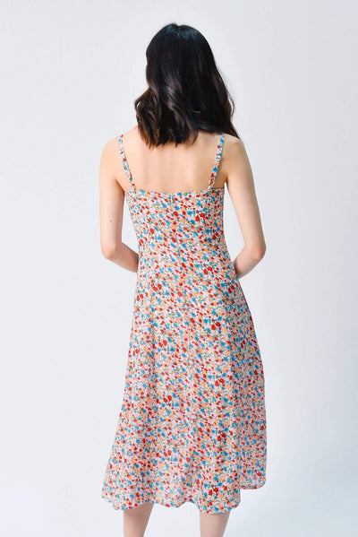 AWE Dresses PENNIE THIN-STRAP POCKET DRESS IN SUMMER FLORAL