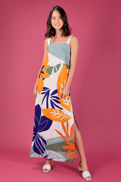 AWE Dresses RAINFOREST TWO-WAY THICK STRAP MAXI