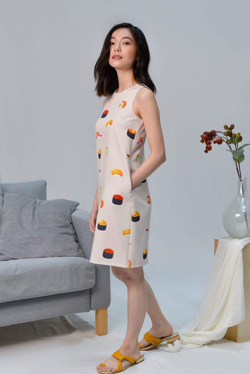 SUSHI SHIFT DRESS