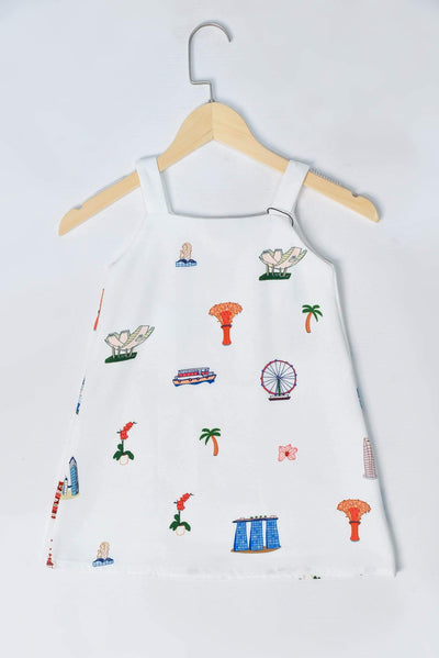 AWE Dresses THIS IS HOME KIDS TWO-WAY DRESS