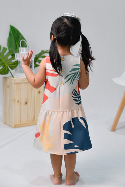 AWE Dresses TROPICAL KIDS DROPWAIST DRESS IN MALDIVES
