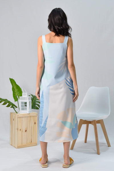 AWE Dresses TROPICAL TWO-WAY MIDI DRESS IN SANTORINI
