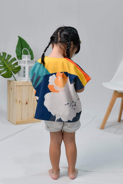 AWE Outerwear HORIZON KIDS KIMONO IN TWILIGHT