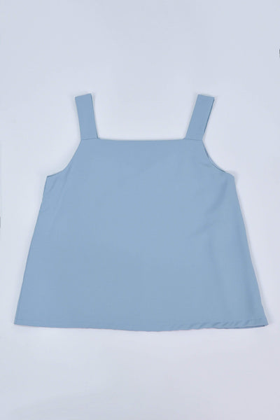 AWE Tops ALYA TWO-WAY THICK STRAP TOP IN POWDER BLUE