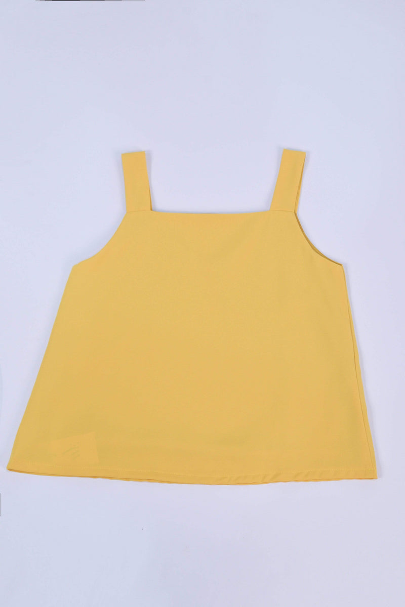 ALYA TWO-WAY THICK STRAP TOP IN SUNSHINE