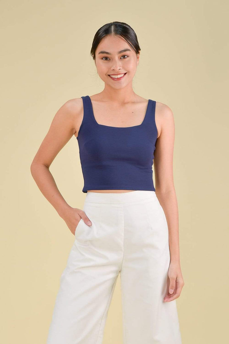 AWE Tops FAYTH BASIC TOP IN NAVY