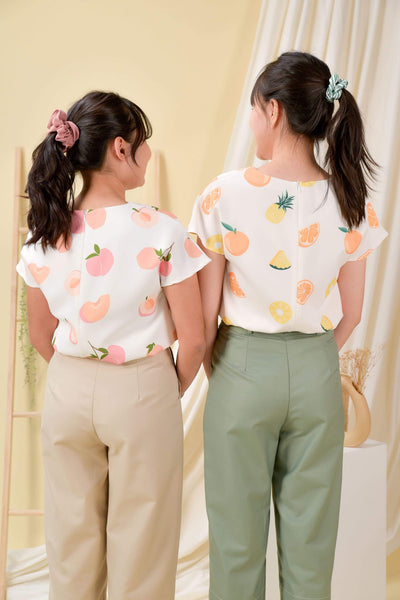AWE Tops PEACHES SLEEVED TOP